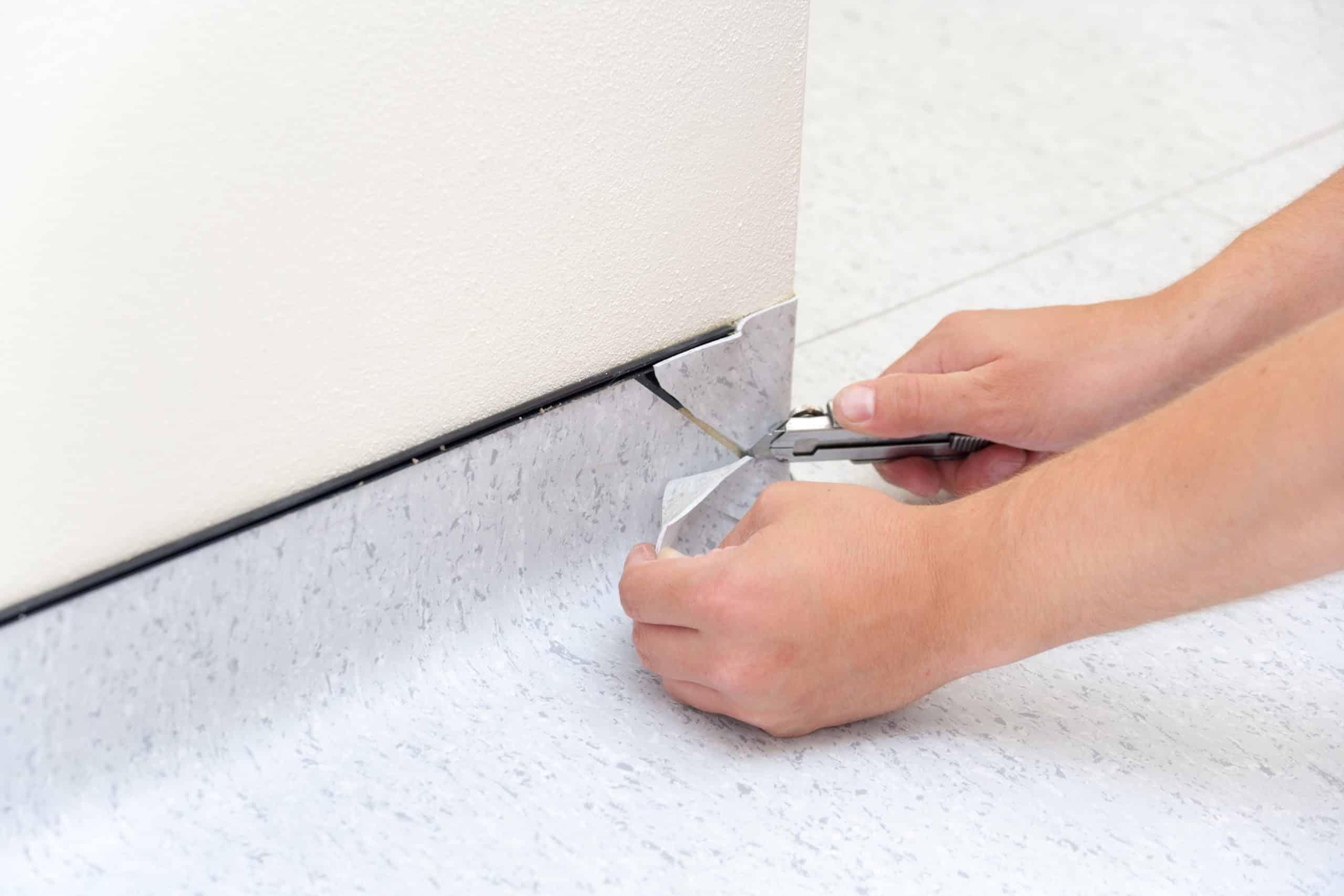 Comment poser un revêtement de sol souple ?